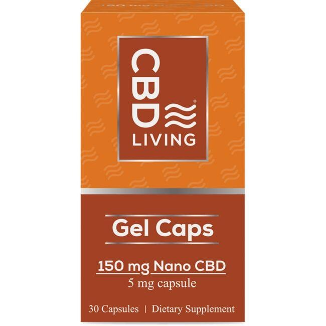 CBD Living CBD Daily Gel Caps