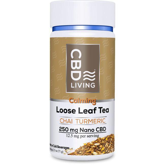 CBD LivingCBD Loose Leaf Chai Turmeric Tea