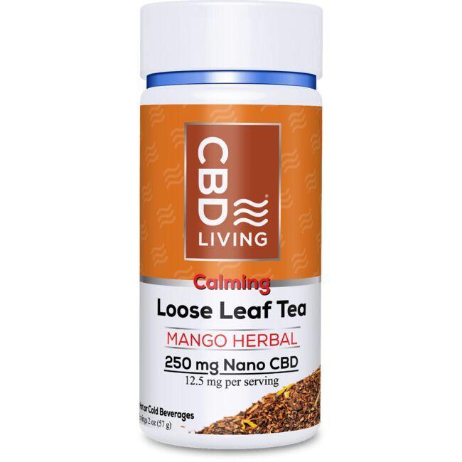 CBD LivingCBD Loose Leaf Mango Herbal Tea