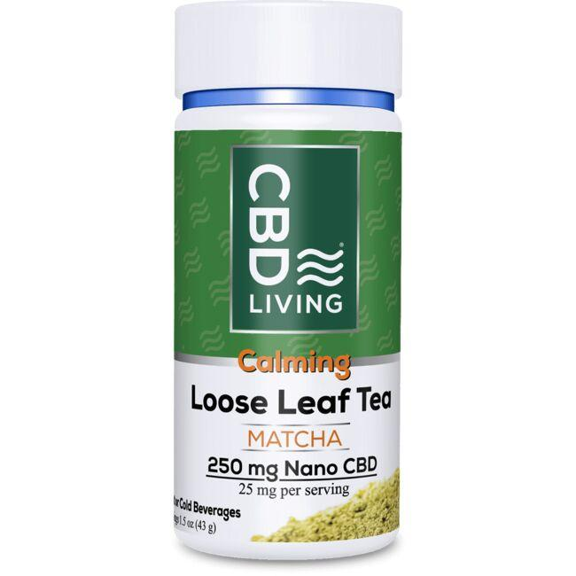CBD Living CBD Loose Leaf Matcha Tea