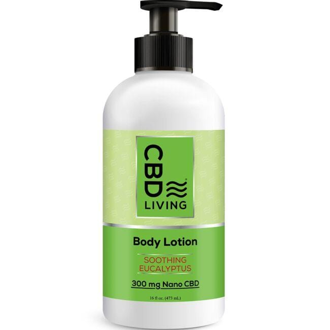 CBD LivingCBD Lotion - Eucalyptus
