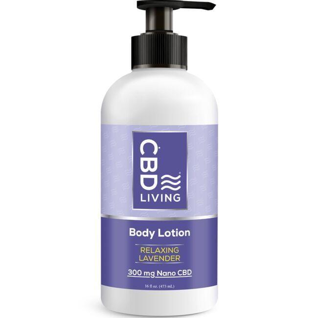 CBD LivingCBD Lotion - Lavender
