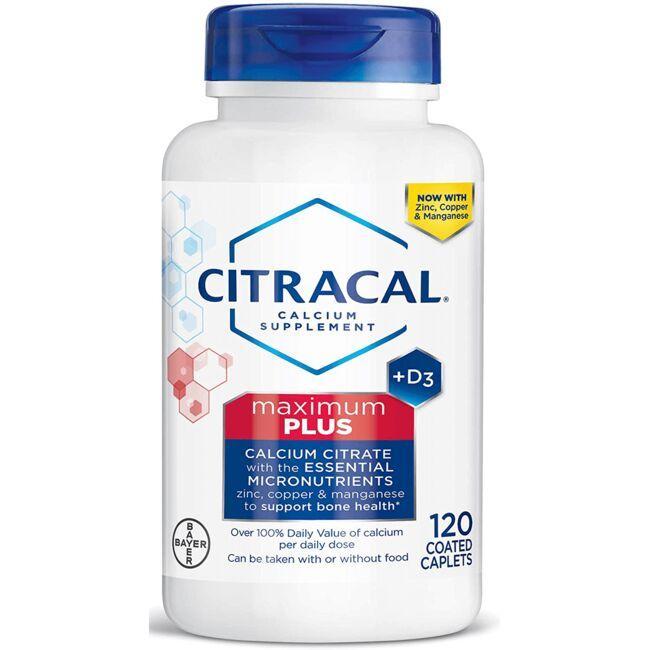 CitracalCalcium Citrate + D3 Maximum