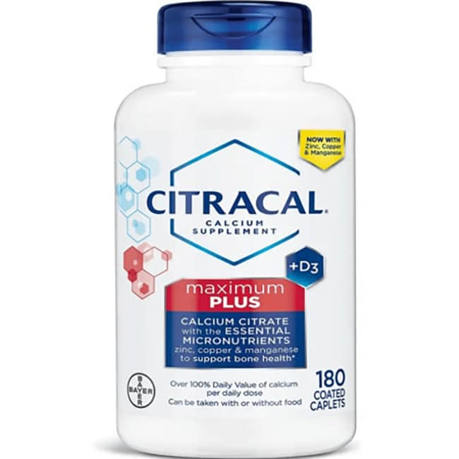 CitracalCalcium Citrate Formula + D3 Maximum