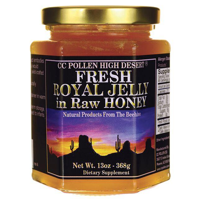 CC Pollen Company Fresh Royal Jelly in Raw Honey