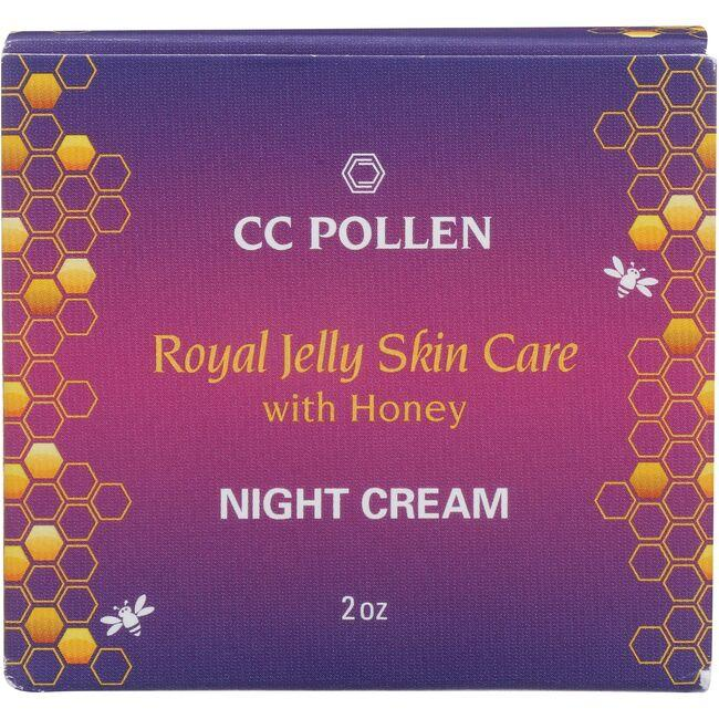 CC Pollen Company Royal Jelly Skin Care with Honey - Night Cream