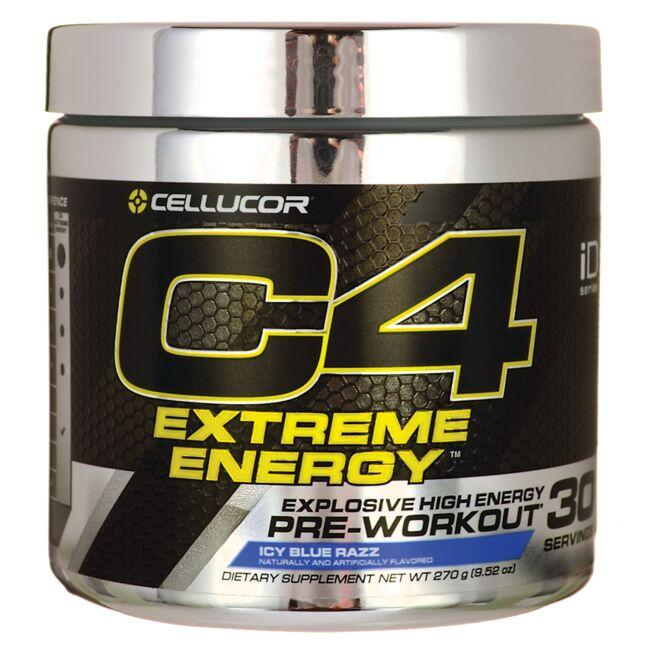 CellucorC4 Extreme Energy Pre-Workout - Icy Blue Razz