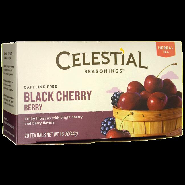 Celestial Seasonings Herbal Tea Black Cherry Berry - Caffeine Free