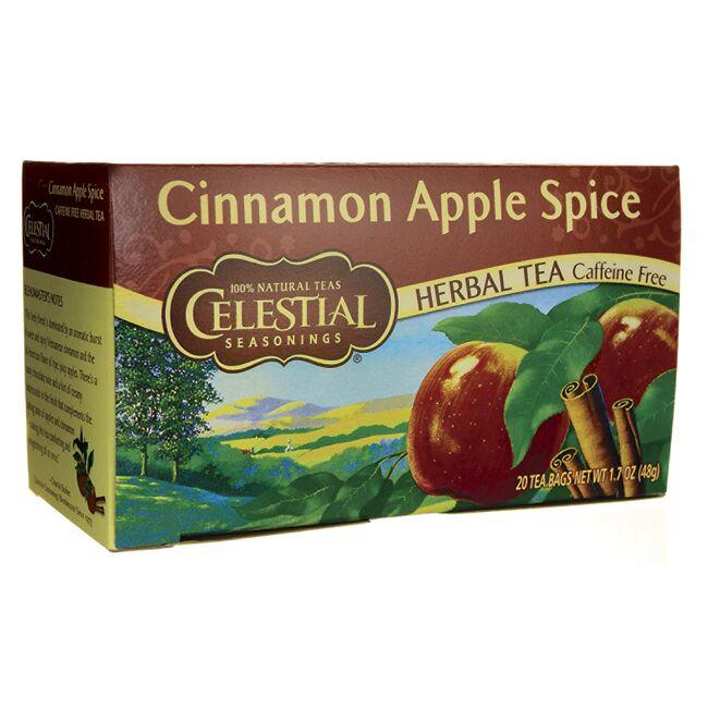 Celestial Seasonings Herbal Tea Cinnamon Apple Spice - Caffeine Free
