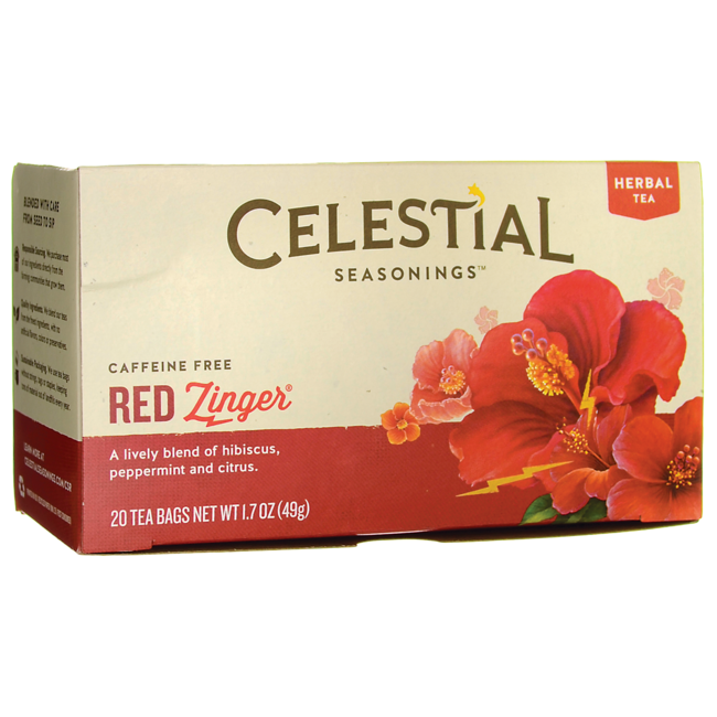 Celestial SeasoningsRed Zinger Herbal Tea - Caffeine Free