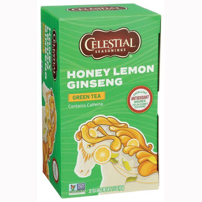 Celestial SeasoningsHoney Lemon Ginseng Green Green Tea