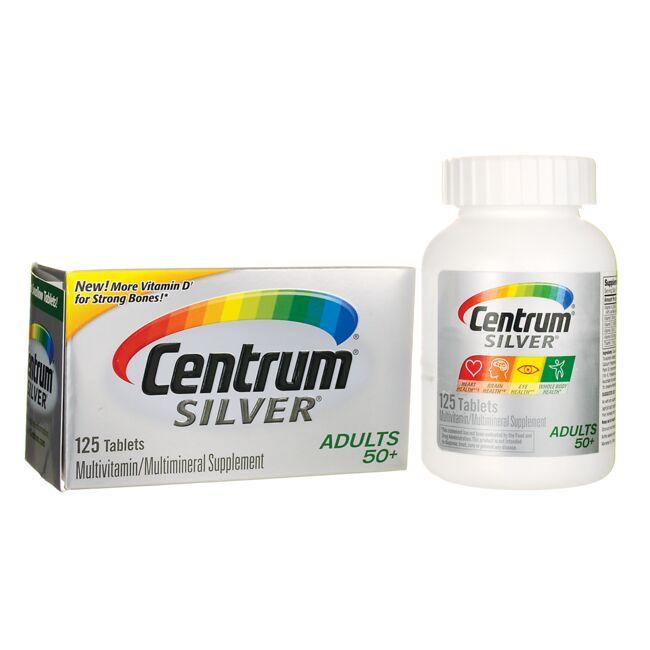CentrumSilver MultiVitamin/MultiMineral Adults 50+