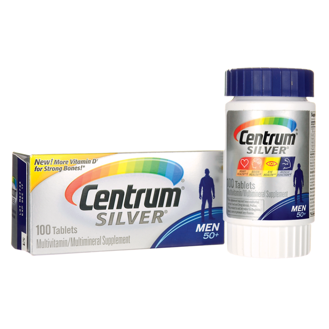 CentrumSilver MultiVitamin/MultiMineral for Men 50+