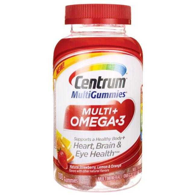 CentrumMulti + Omega-3