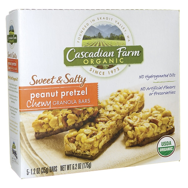 Cascadian FarmChewy Granola Bars - Sweet & Salty Peanut Pretzel