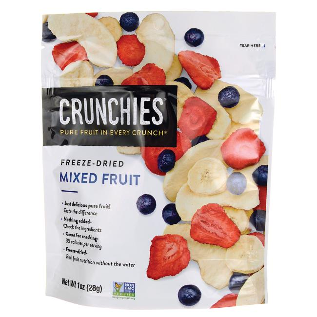 Crunchies Food Company Freeze-Dried Mixed Fruit