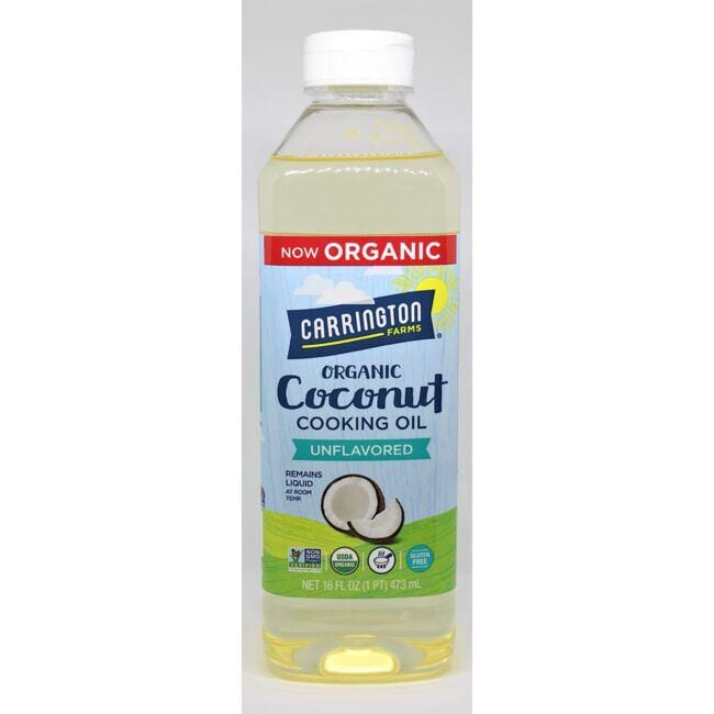 Carrington Farms Coconut Cooking Oil - Unflavored Odorless