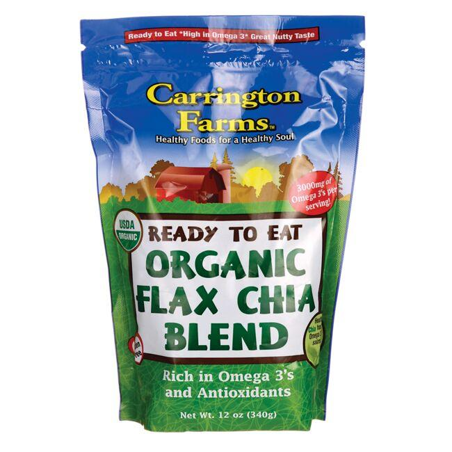 Carrington Farms Ready To Eat Organic Flax Chia Blend