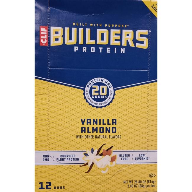 Clif BarsBuilders Protein Bar - Vanilla Almond