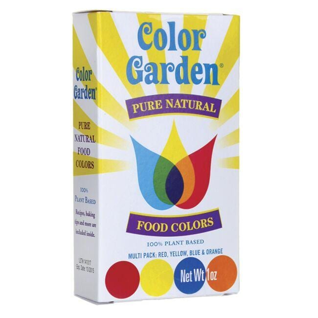 Color Garden Pure Natural Food Colors - Multi Pack