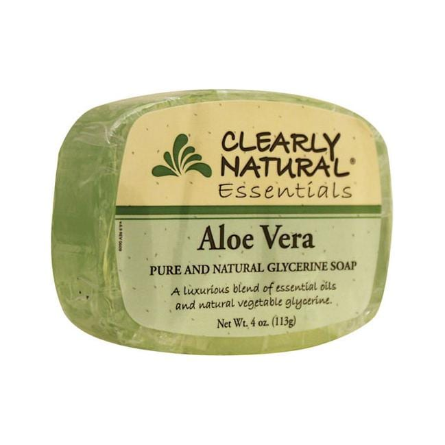 Clearly Natural Glycerine Bar Soap Aloe Vera