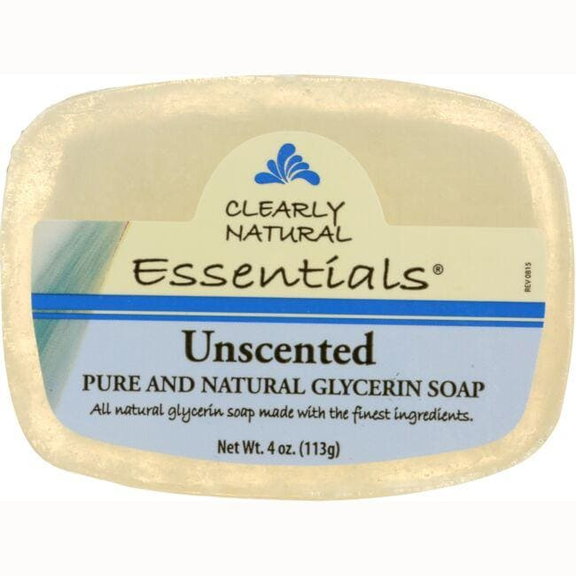 Clearly Natural Glycerine Bar Soap Unscented