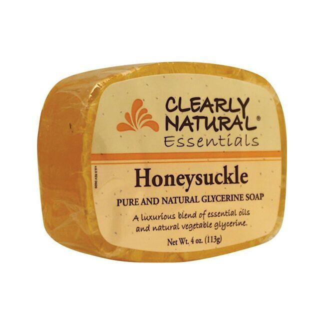 Clearly Natural Glycerine Bar Soap Honeysuckle