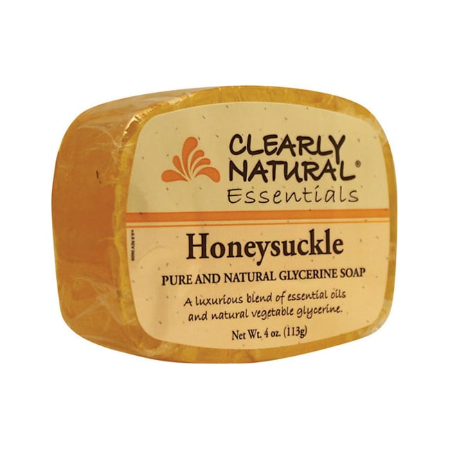 Clearly NaturalGlycerine Bar Soap Honeysuckle
