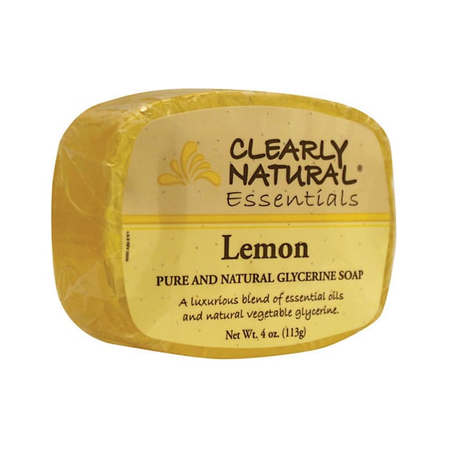 Clearly Natural Glycerine Bar Soap Lemon