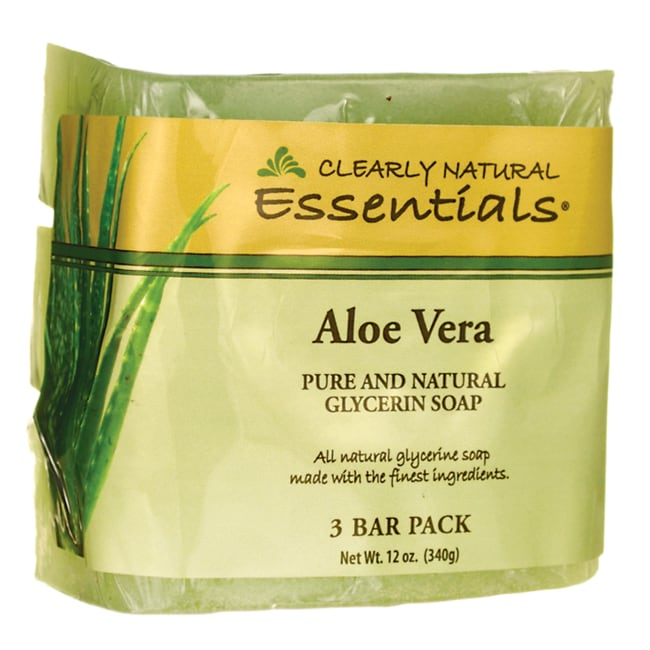 Clearly NaturalGlycerine Bar Soap Aloe Vera