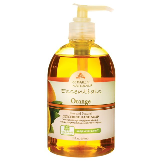 Clearly NaturalGlycerine Hand Soap - Orange