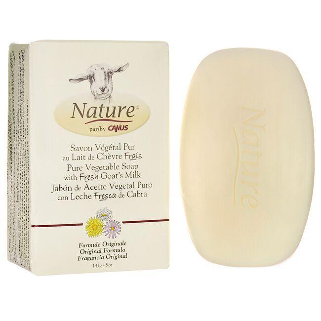 CanusPure Vegetable Soap with Fresh Goat's Milk Original Formula
