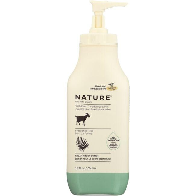 CanusNature Creamy Body Lotion - Fragrance Free