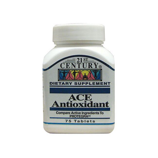 Nourishment from the complete group of antioxidants Guaranteed purity, freshness and potency No sugar, salt, yeast, preservatives or artificial flavors 21st Century Ace Antioxidant 75 Tabs Multivitamins Sold by Swanson Vitamins