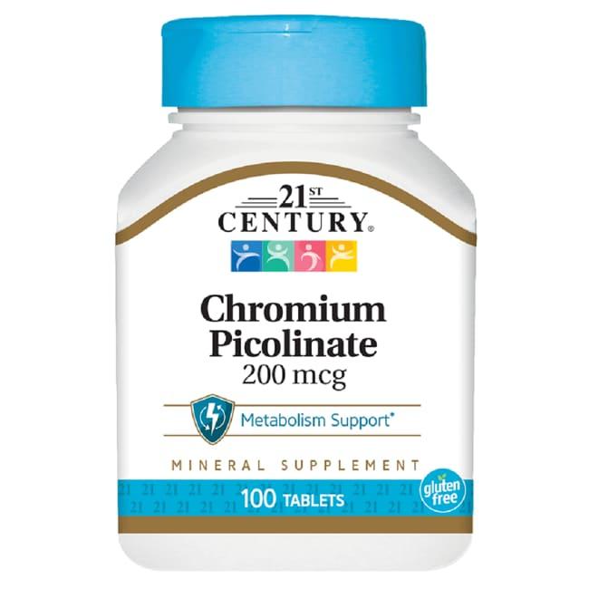 21st CenturyChromium Picolinate
