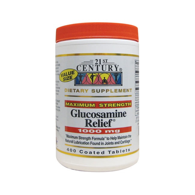 21st CenturyMaximum Strength Glucosamine Relief