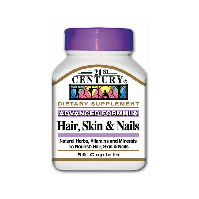 21st Century Advanced Formula Hair, Skin & Nails