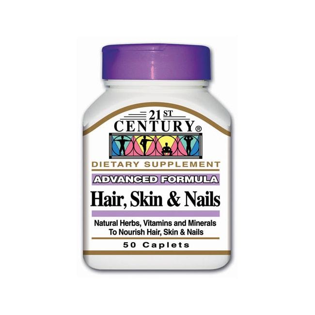 21st CenturyAdvanced Formula Hair, Skin & Nails