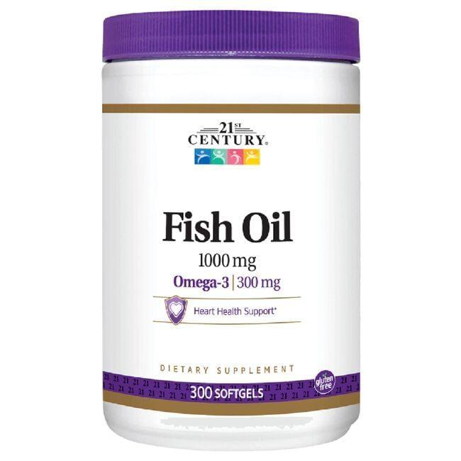 21st CenturyOmega-3 Fish Oil