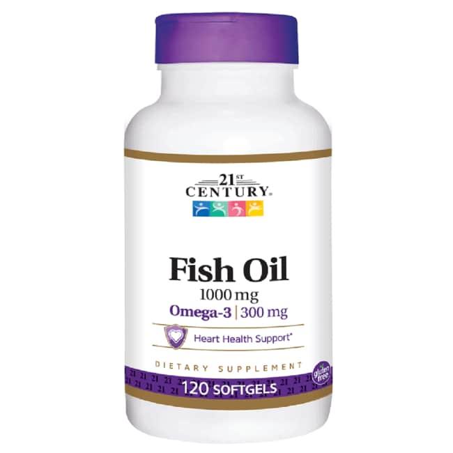 21st Century Omega-3 Fish Oil