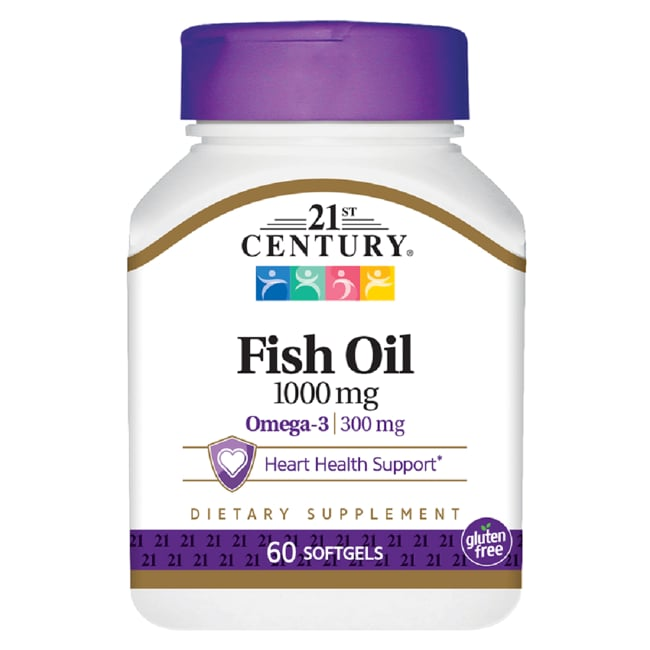 21st CenturyOmega-3 Fish Oil