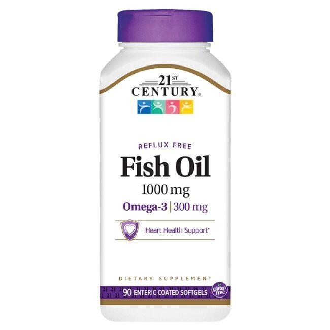 21st CenturyReflux Free Fish Oil