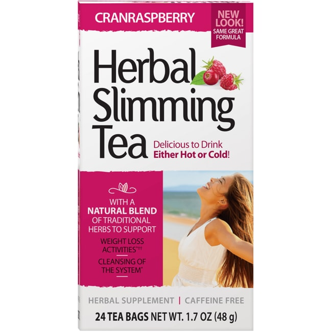 21st CenturySlimming Tea CranRaspberry