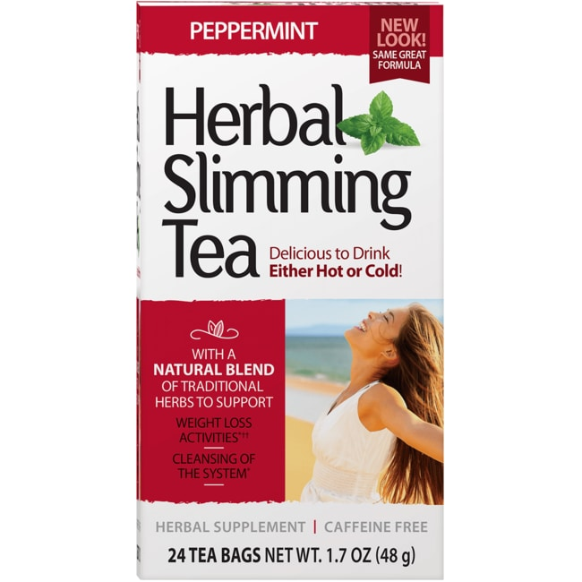 21st CenturySlimming Tea Peppermint