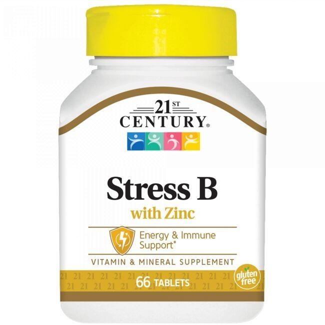 21st CenturyStress B with Zinc