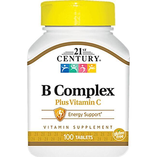 21st CenturyB Complex Plus Vitamin C