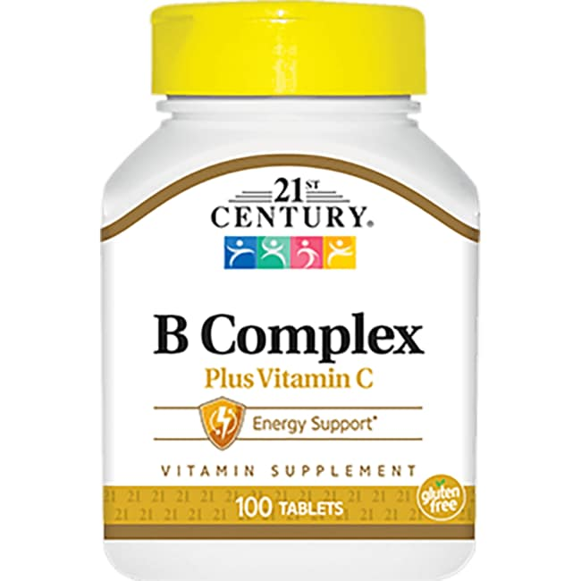 21st Century Natural B Complex with Vitamin C