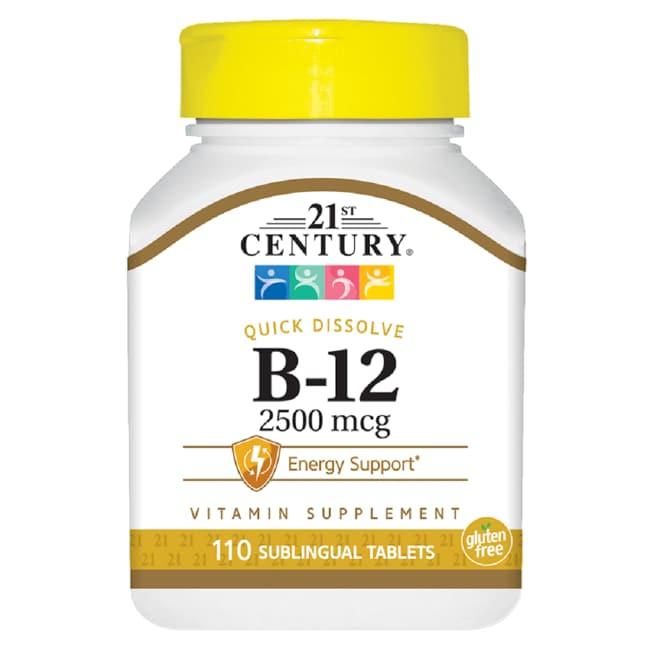 21st CenturySublingual Vitamin B-12