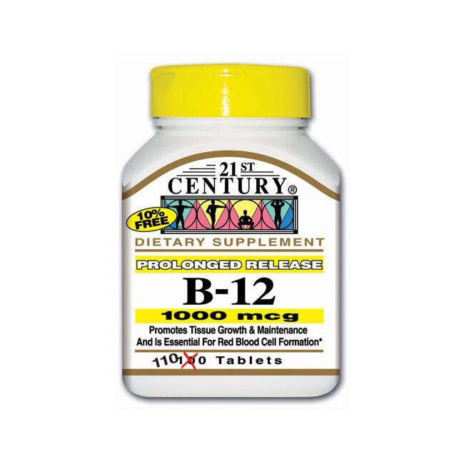 21st Century Prolonged Release Vitamin B-12