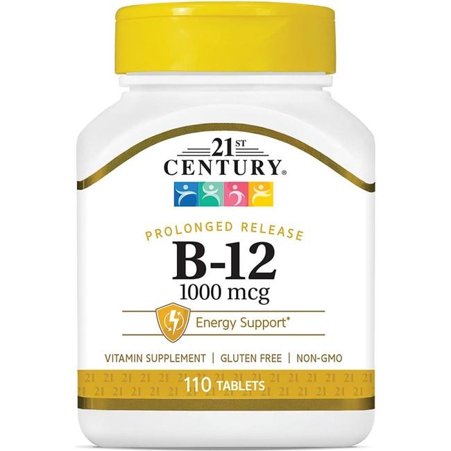 21st CenturyProlonged Release Vitamin B-12